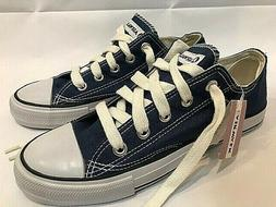 NEW Airwalk Low-Rise Canvas Sneakers, Blue, Size 7.5, Like-C