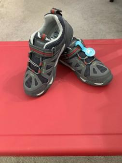 NEW Stride Rite M2P Boys Ian Sneakers Size 1 WIDE Washable