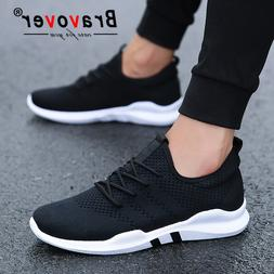 Bravover New Men's Outdoor Running Shoes Breathable Male <fo