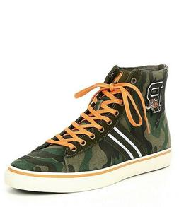 New Polo Ralph Lauren Men Solomon II Varsity Camo High-Top S