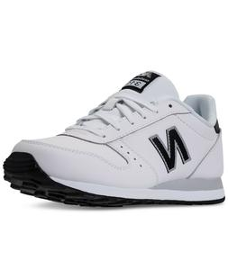 NEW MEN'S NEW BALANCE 311 LEATHER CASUAL SNEAKERS!!! IN WH