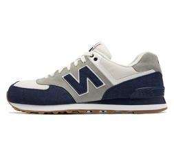 New! Mens New Balance 574 Retro Sport Sneakers Shoes - navy