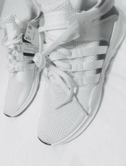 New Mens Adidas EQT Support Adv Sneaker Crystal White Grey S