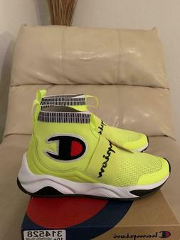 New Mens Champion Rally Pro Pastel Yellow Shoes Sneakers Siz