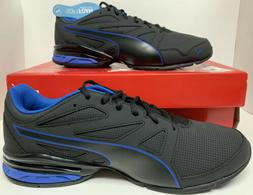 New Mens Puma Tazon Modern SL FM Black Blue Size 10.5 Runnin