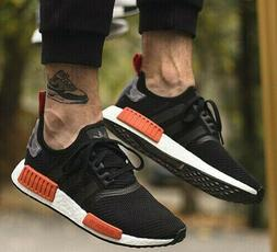 New adidas NMD R1 Mens sneaker black orange burnt camo all s