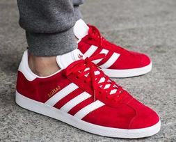 New ADIDAS Originals Gazelle Casual Sneakers Mens red white