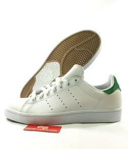 NEW adidas Originals STAN SMITH VULC SHOES White Green Skate