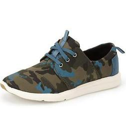 New Originals Women's Sneakers Del Rey TOMS Camo Canvas Prin
