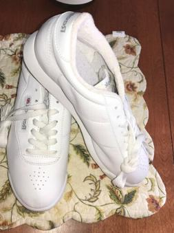 New Reebok Princess Classic Sneakers - Women's Size 8.5 - Wh