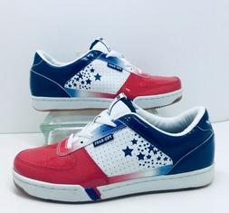 NEW Pro Keds Royal Court True Red White Blue Lace Up Sneaker