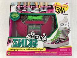 New Sealed Sneaker Skinz Fashionably Me Personalized Bling S