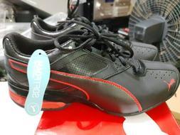 New Puma Tazon 6 FM Black Toreador Men's Running Shoes Sneak