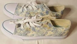 New Woman Floral Design Airwalk Sneakers Size 10