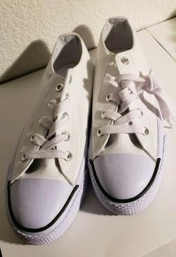 New Airwalk Woman's Classic Sneakers Tennis Shoes Size 7 whi