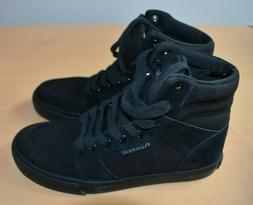 New Airwalk Women's Black Radlee High Top Kickflip Sneakers