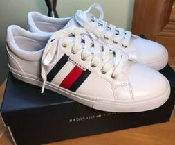 NEW!  Tommy Hilfiger Women's Lightz Sneakers White Lace Shoe