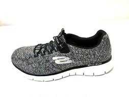 NEW! Women's SKECHERS Memory Foam Sneakers 59839H  Black/Whi