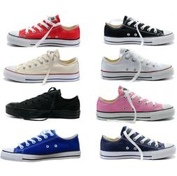 NEW WOMEN'S MEN'S ALL STARS CHUCK TAYLOR OX LOW HIGH TOP CAN