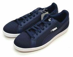 PUMA Men's Smash Knit C Sneakers Navy size 8.5