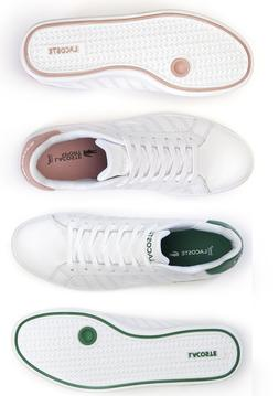 NEW Lacoste Women's Athletic Fashion Shoes Graduate Leathe