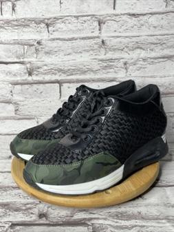 New The Fix Womens Lexi Camo/Black Fashion Sneaker Size 7.5