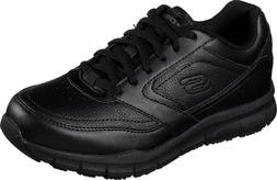 NEW Womens SKECHERS Work Relaxed Fit Nampa Wyola Black SR Sn