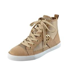 NIB GUESS Mamari High Top Ankle Sneakers Keds Brown White US