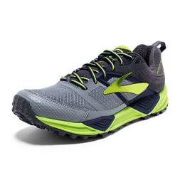 c895db2d0bb NIB MEN BROOKS 110243 076 CASCADIA 12 PRIMER GREY LIM RUNNIN