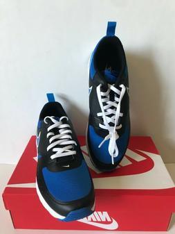 NIB!!Nike Men's Air Max Vision Sneakers In Black/Signal Bl