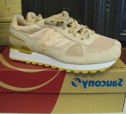 NIB Saucony Mens Tan Shadow Originals Athletic Sneaker - S21