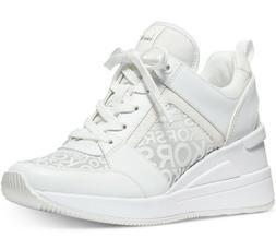 NIB Size 6.5 Michael Kors Georgie Trainer Mesh Sneakers Shoe