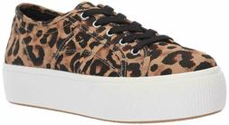 NIB Steve Madden Womens Emmi Low Top Lace Up Fashion Sneaker