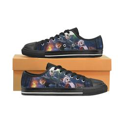 Nightmare Before Christmas Low Top Sneakers Classic Canvas S