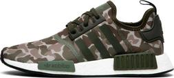 Adidas NMD R1 Camo Sesame Cargo Steel Green White Black Size