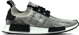 Adidas NMD R1 PrimeKnit Sesame Mens Size Sneakers Shoes Whit