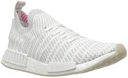 adidas Originals Men's NMD_R1 STLT PK Running Shoe, White/Gr