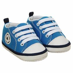 Non Slip Sneakers Shoes For Baby Boys Canvas Upper Material
