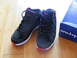 NOS NWT CHAMPION YOUTH BOYS SIZE 13 Black/White/Red LOW Athl
