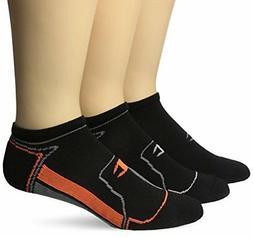 Champion Men's No-Show Running Socks 3-Pack Assortment2 6-12