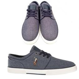 NWB Polo Ralph Lauren Men's Faxon Canvas Sneakers