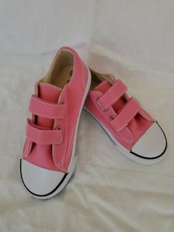 NWOB AIRWALK PINK  Girls Cloth Tennis Shoes Size 12