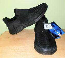 df439007f1a8d NWT Champion All Black Slip-on Sneakers Shoes Size 8.5 Women
