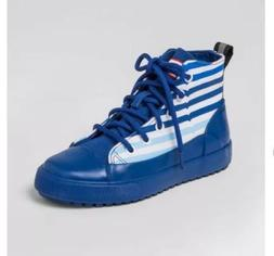 NWT Hunter for Target Boots Canvas High Top Sneakers Blue St