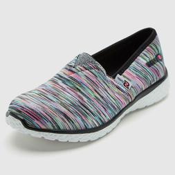 NWT Skechers Girls Jesika Slip On Sneakers Size 2 Cool Multi