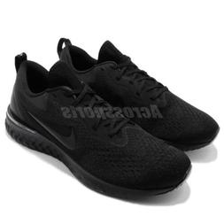 Nike Odyssey React Triple Black Men Running Shoes Sneakers A
