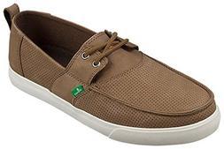 Sanuk Men's Offshore Deluxe Shoes Brown 8