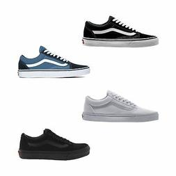 Vans Old Skool Skate Shoes Classic Men Sneakers Black White