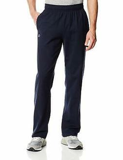 Champion Men's Authentic Open Bottom Jersey Pant, X-Large -