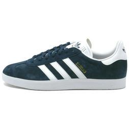 Adidas Originals Gazelle Navy Suede Low Top Mens Trainer Sne